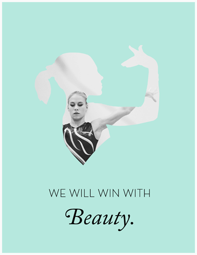 "THE AFANESYEVA POSTER GIVEAWAY. Gymnastics lovers: our second poster giveaway is here! Up for grabs is this exclusive, one-off variant of our Afanesyeva poster. HOW TO WIN We have partnered with Gymcastic - the most superawesome gymnastics podcast EVER - for this giveaway. The latest episode of their show features an interview with Scott Bregman, the communications manager of USAG gymnastics. Gymcastics and Scott are seeking feedback from gymnastics fans on what you would like to see from the USA gymnasts during live podium training broadcasts (similar to the one from the 2013 American cup), given that there will only be one cameraman broadcasting the action for the Gymternet to see. For more specific details of this contest/giveaway, tune in to the latest episode of Gymcastic. The contest details are at the end, at about the 1:29.45 mark. But you should deffo listen to the whole thing because it's really great! To enter the contest, e-mail your single-cameraman-podium-training-strategy ideas to gymcastic@gmail.com with the subject line ""Ideas for Scott Bregman"" Please include your name and address. The deadline is Tuesday, May 21st. This is a great chance for gymnastics fans to have a say in making the sport more accessible to us, so get to it, gymternet! ♡,Cloud & Victory"