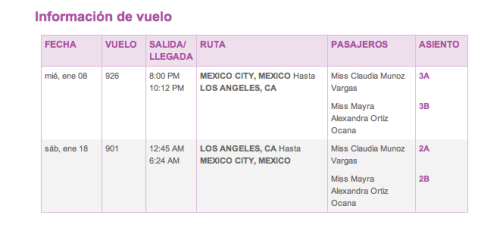 Airline tickets are my main source of happiness. California, here we come!