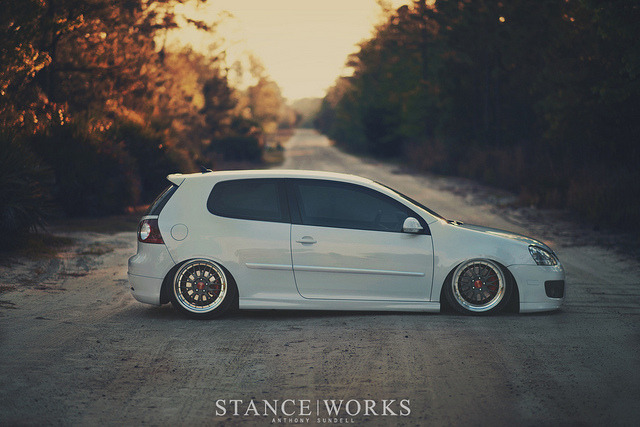 stancespice:  Alex's MkV Stanceworks Feature by Anthony Sundell Photography on Flickr.