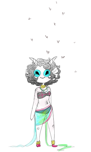 short haired feferi/ aka baby.