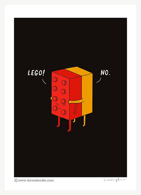 magicfran:  I'll never Lego by ILoveDoodle on Flickr.