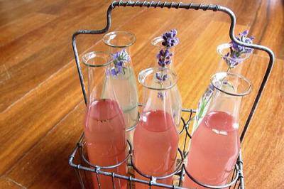 strawberryborn:  Fruit & Herb Infused Water Make a pitcher - perfect for springtime! Lavender Citrus Water - Best if consumed first thing in the morning alleviates anxiety, digestive aid, liver detoxifier, antibacterial, alkalizer   3 large lemons, cut into thick slices ¼ cup lavender ½ gallon of water   Minty Pineapple Water good for digestion, high in Vitamin A&C, combats allergies, energy, prevent nausea, metabolism  8-10 mint leaves 1/4 portion of a pineapple, peeled and cut into small triangles 8 cups water  Blackberry Sage Water high in antioxidants, bone health, helps relieve PMS, skin rejuvenator, anti-inflammatory, anti-viral  10 cups of water 1 cup of blackberries that have been very slightly crushed 3-4 sage leaves  Watermelon Rosemary Water heart healthy, potassium, diuretic, improved memory, mood elevator, fresh breath, anti-aging   10 cups of water 1 cup of watermelon cut into cubes 2 rosemary stems  Refrigerate over night if possible, otherwise, at least 3 hours.  Enjoy!