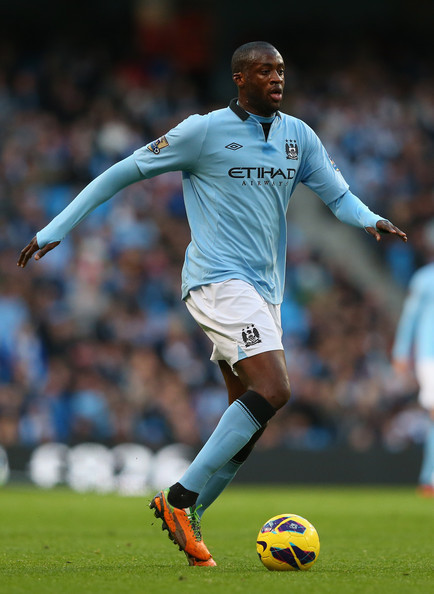lovesoccerlovelife:  8/50 favorite footballers- Yaya Toure  love love love Yaya Toure.