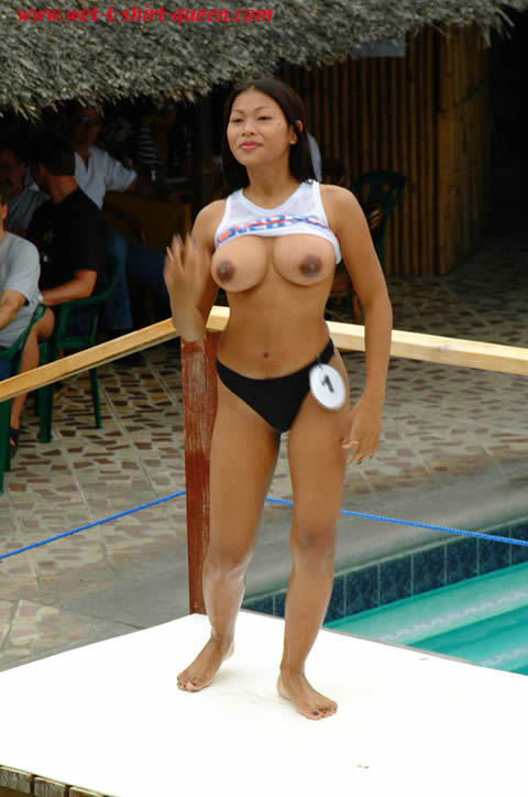 I remember that wet t-shirt contest in Angeles City. Venus has the best boobs and won the Swagman Hotel party.Big Filipina Boobs