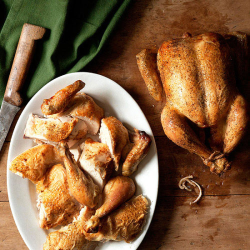 Today's Daily Bite is a must-know recipe! Couldn't Be Easier Roast Chicken