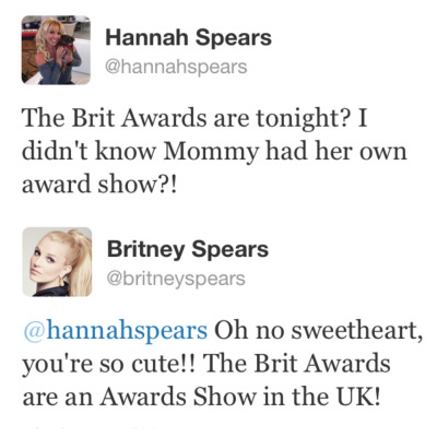 tyleroakley:  maclonna:  Living Legend Britney Spears tweets to herself pretending to be her dog.  QUEEN.
