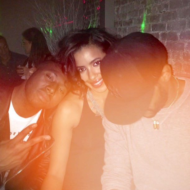 With the Fam @officialjulissab @maxwell Saturdays at Jet Lit🔥