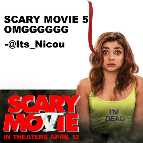 We're only 5 days away! Tell us how pumped you are for Scary Movie and your message might be featured next! Scary Movie 5 hits theaters this Friday, April 12.