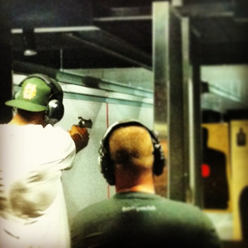 Felt a little bit like Clint Eastwood when shooting the .44 #Magnum #DirtyHarry shout out to @stripgunclub for an awesome time! #Guns #SixShooter