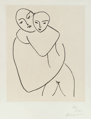 Henri Matisse, Mother and Child, 1949.