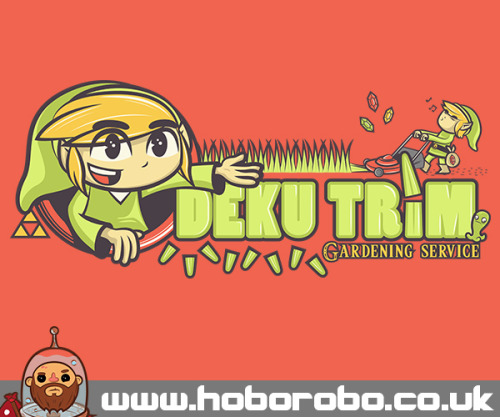 "hoborobo:  ""Deku Trim"" - Available at Redbubble and Society 6 My Website Twitter  Facebook RedBubble Society 6"