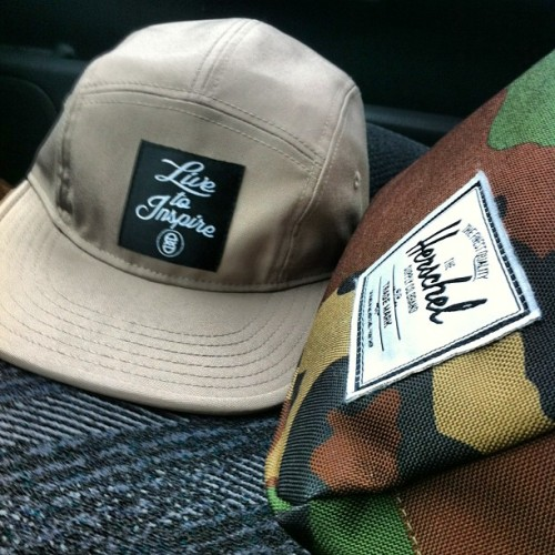 #LivetoInspire camp cap (www.emnace.com) #5panel