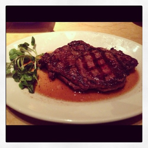 g-lee816:  #Dinner last night at The #Cheesecake #Factory! #ribeye #steak