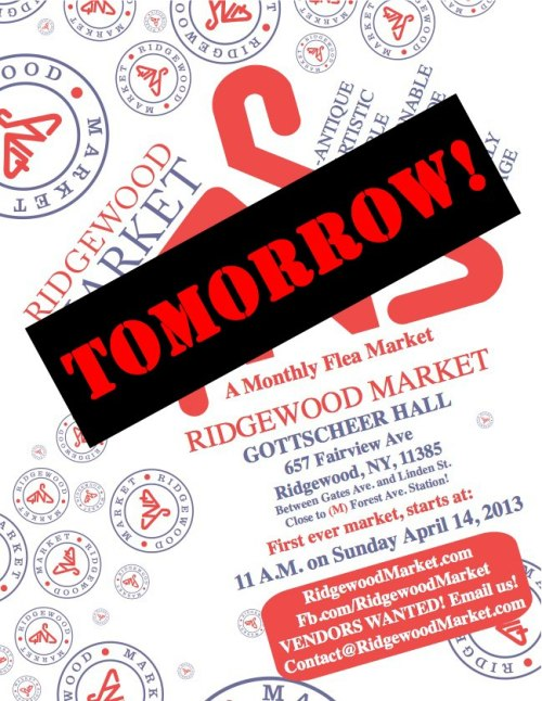 Hope to see you at the Peachy Jean Boutique booth tomorrow at the Ridgewood Market!SUBWAY NOTICE: The J train isn't running this weekend from Manhattan to Brooklyn. There is a shuttle bus, but if you're coming from Manhattan use the L train to get to the M. Directions