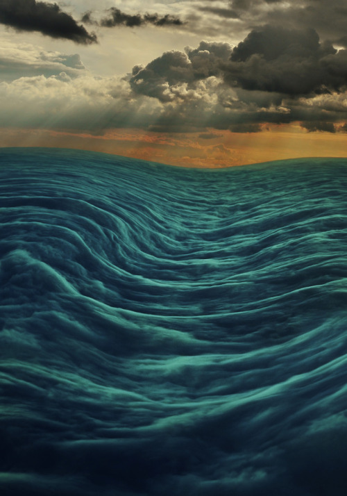 brutalgeneration:  A surreal seascape (by ajcoleyyy)