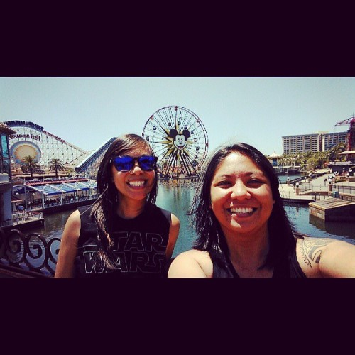 California Adventuring with @keli21  (at Paradise Pier)