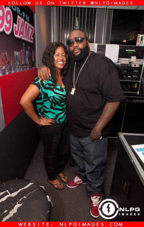 "Photos: Rick Ross in WEDR 99 Jamz Studio while interviewing with Felisha Monet. NLPGimages.com ""We're Everywhere You're Not"" Follow us on Instagram @NLPGimages Follow us on Twitter @NLPGimages"