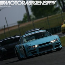 It's not every day you see a kouki #Nissan #S14 #240SX running #timeattack! @GlobalTimeAttack #RoadAtlanta #globaltimeattack #roadracing (at Zankou Chicken)