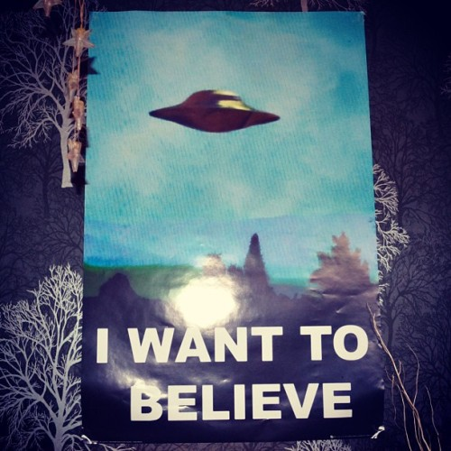 #believe #poster #xfiles #mulder #scully #bedroom #home