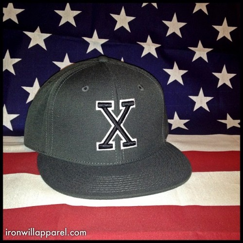 Limited Edition Charcoal X Hat  Coming Soon! | Only 10 Made.http://shop.ironwillapparel.com