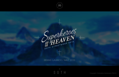 SGTH / Streetwear / BRAND LAUNCH / MAY 2013 https://www.facebook.com/BlackVirginStudio