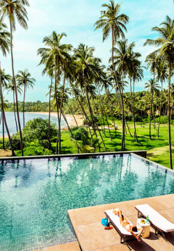 condenasttraveler:  The Grand Tour of Asia: Sri Lanka | Amanwella resort in Tangalle