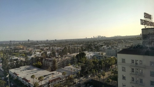 LA in hdr via HTC One.