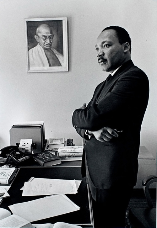 Happy Birthday, Dr. King.  photo by Bob Fitch
