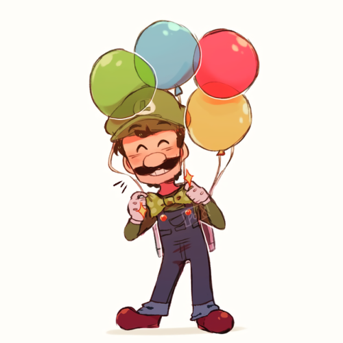 sorry for the reupload fellas i needed to fix the colors super mario odyssey mario luigi cappy nintendo nintendo switch the dump happy first bday switch