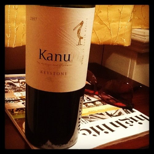 completely fell in love with this South African star Keystone @kanuwines cabernet, Cab Franc and Malbec