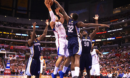 Grizzlies vs Clippers: Game 1 - Sat April 20, Memphis at L.A. Clippers, 10:30PM, ESPNGame 2 - Mon April 22, Memphis at L.A. Clippers, 10:30PM, TNTGame 3 - Thu April 25, L.A. Clippers at Memphis, 9:30PM, TNTGame 4 - Sat April 27, L.A. Clippers at Memphis, 4:30PM, TNTGame 5 * Tue April 30, Memphis at L.A. Clippers, TBD, TBDGame 6 * Fri May 3, L.A. Clippers at Memphis, TBD, TBDGame 7 * Sun May 5, Memphis at L.A. Clippers, TBD, TBD