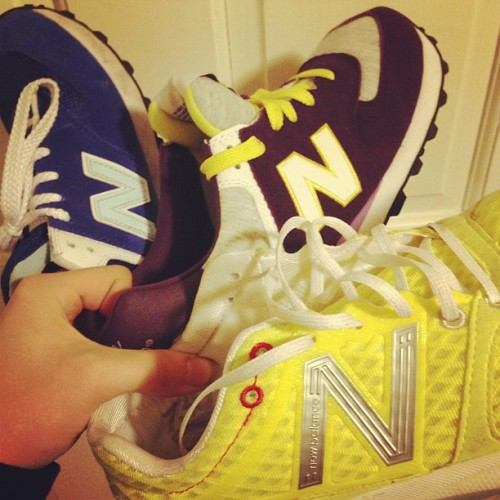 Don't hate on my New Balance now kids.