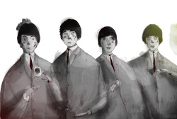 eatsleepdraw:  the beatles