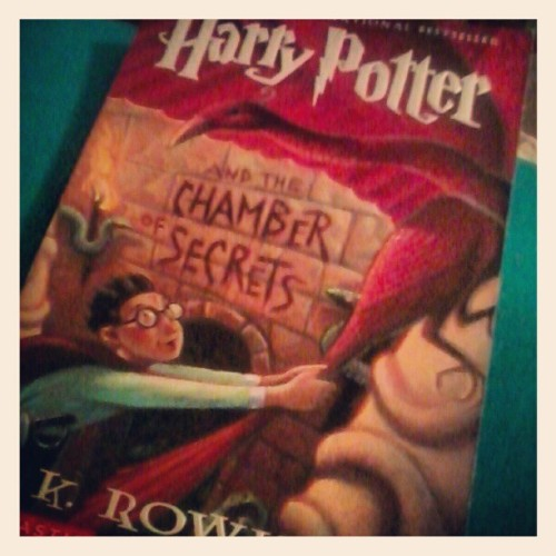Late night reading #harrypotter