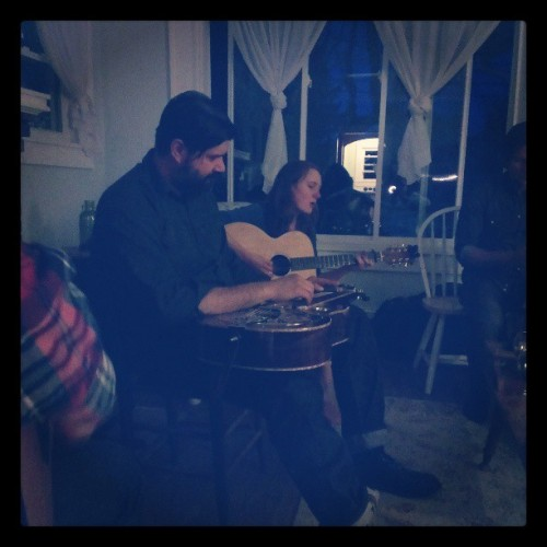 Great songwriter jam a couple of weeks ago, hosted by Miss Amanda Platt of The Honeycutters. FUN night.
