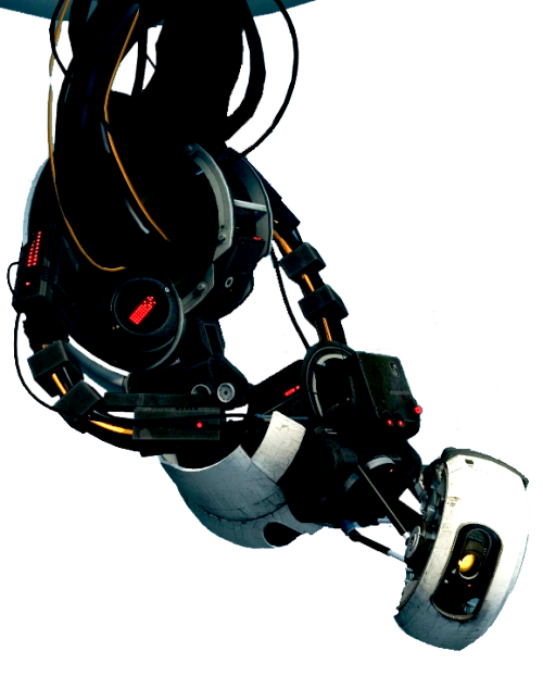 archylte-steppe:  GLaDOS - transparent