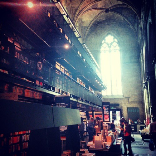 Just a bookstore in a church (at Selexyz Dominicanen)