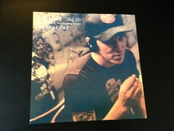 "Vinyl cover art for the Elliot Smith alternate versions from Either/Or, limited edition (3500) vinyl 7"" for Record Store Day 2013"