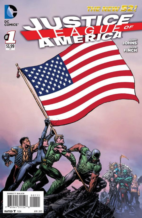 Justice League of America #1  Nearly everything about his comic comes from a ridiculous premise and bad (and do I mean BAD) ideas…