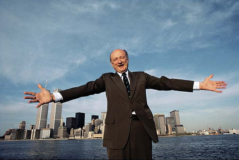 """Stickin the city like Ed Koch.""  Rest In Power"