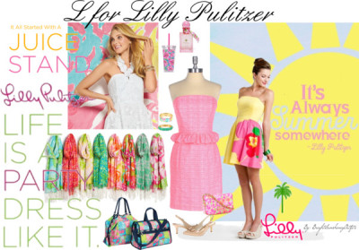 L for Lilly Pulitzer by brightsunshineyoutfits featuring lilly pulitzer shoes