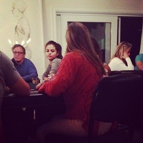 @citizenglish: Selena Gomez at Poker Night #nbd