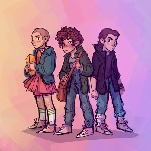 stranger things stranger things 2 stranger things spoilers eleven jane hopper stranger things art el stranger things s2 fanart my art 11 hhhhhhhhhhh i have like three more color version of this nvfjndfk i& 039;m.. darn indecisivie but here goes this one
