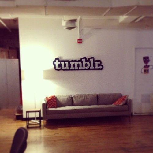 redefining the lawyerly workplace. #tumblr  (at Tumblr)