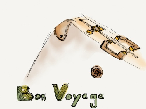 Bon Voyage  Made with Paper