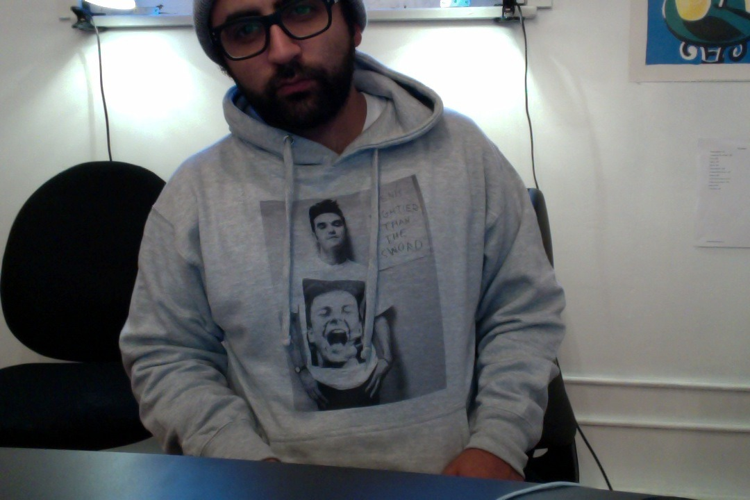 i printed my own hoodie today because i was just flat out bored.