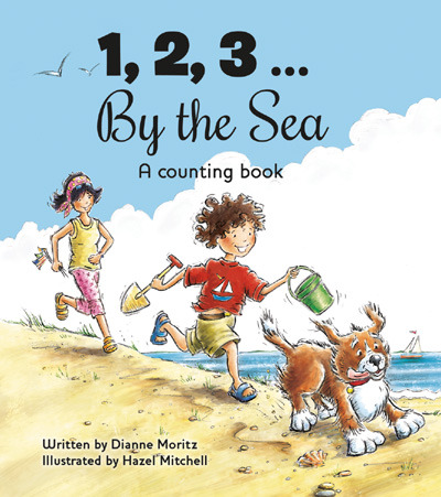 '1,2,3 by the Sea' is officially here!   And to celebrate I'm having a giveaway for 2 lucky winners  TO ENTER CLICK LINK http://hazelmitchell.blogspot.com/2013/03/123-by-sea-publication-day-giveaway.html