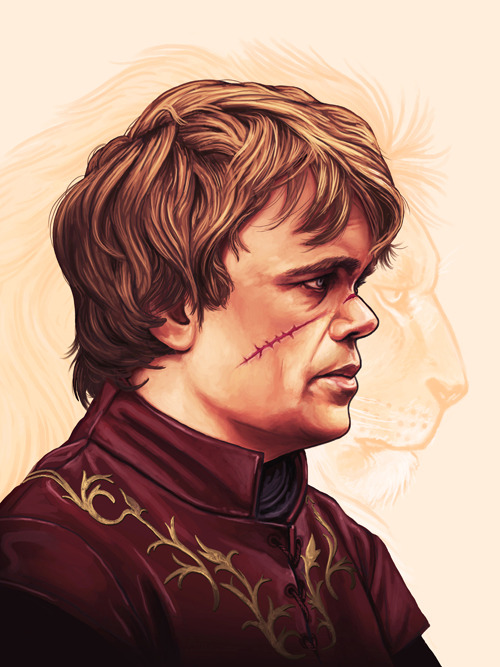 "laughingsquid:  Game of Thrones Art Show by Mondo Gallery & HBO at SXSW  I am very excited to be a part of this show. ""The velvet is dark and full of terrors."""