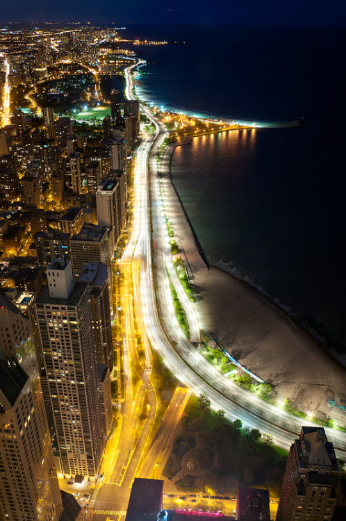 vurtual:  The Lakefront, Chicago (by baseball636)