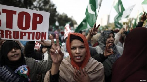 "Pakistan govt signs deal with protesters to dissolve parliamentJanuary 17, 2013 A team of Pakistani ministers and political leaders have struck a deal with protesters, dubbed the ""Islamabad Long March Declaration"".The document provides for the dissolution of parliament and snap elections, RT's correspondent in Islamabad reports. RT's Tariq Muhiyuddin says the parliament will be dissolved before March 16 and elections will be held in 90 days, according to the deal.  The document is yet to be signed by the Prime Minister, however. Muslim Cleric Muhammad Tahirul Qadri, along with his supporters, has been staging street protests in the capital for several days calling on the government to resign. On Thursday, Qadri and the government negotiators spent over four hours in talks. Emerging from the meeting, the cleric said an agreement had been reached and called it the 'Islamabad Long March Declaration'.  He added that he would put a halt to the street protest in Islamabad. Once the document is signed by the PM, he will read it out at the main site of the protests, Jinnah Avenue. Source"